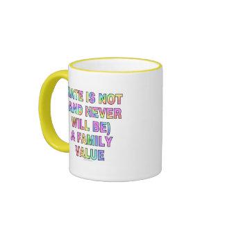 El odio no es (y nunca esté) taza de dos colores