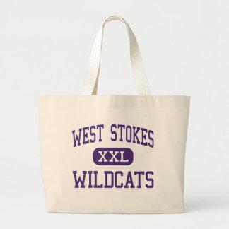 El oeste alimenta - los gatos monteses - el alto - bolsas lienzo
