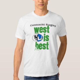 El oeste es el mejor playeras