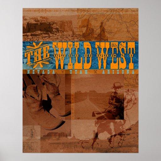 El oeste salvaje: Nevada, Utah, Arizona - poster