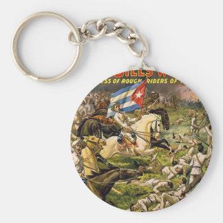 El oeste salvaje y el congreso de Buffalo Bill de Llavero Redondo Tipo Pin