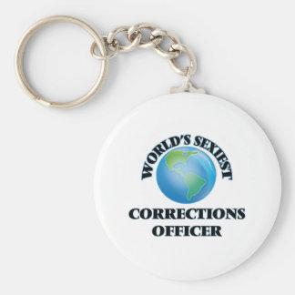 El oficial de las correcciones más atractivo del llaveros personalizados