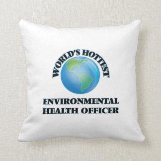 El oficial de las higienes ambientales más almohadas