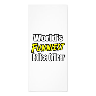 El oficial de policía más divertido del mundo tarjetas publicitarias
