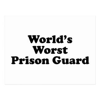 El oficial de prisiones peor del mundo postales