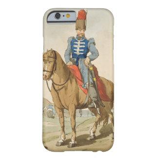 El oficial del Cossack, grabado al agua fuerte por Funda Para iPhone 6 Barely There