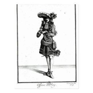 El oficial del rey, 1675 postales