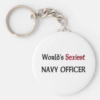 El oficial más atractivo de la marina de guerra de llaveros