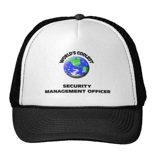 El oficial más fresco de la gestión de la segurida gorra