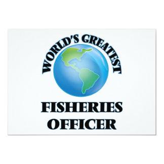 """El oficial más grande de las industrias pesqueras invitación 5"""" x 7"""""""
