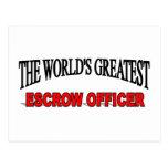 El oficial más grande del fideicomiso del mundo postal