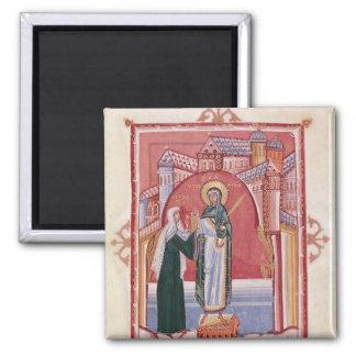 El ofrecimiento de Hilda de la abadesa Imán Cuadrado