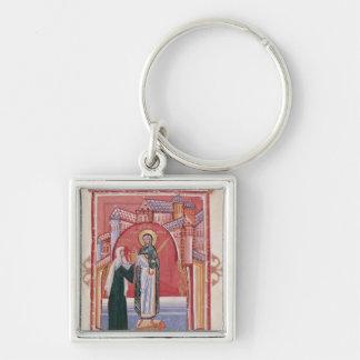 El ofrecimiento de Hilda de la abadesa Llaveros Personalizados
