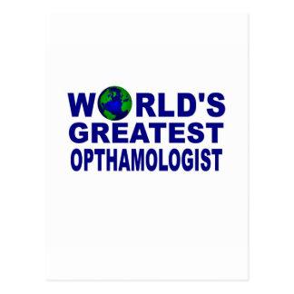 El oftalmólogo más grande del mundo tarjetas postales
