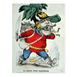 El ogro alemán gigante postales