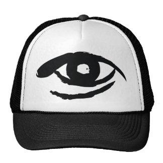 El ojo aclarado gorras