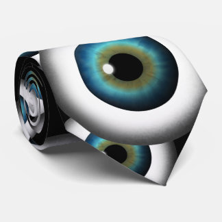 El ojo azul calcula visualmente el lazo de encargo corbatas personalizadas