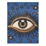 El ojo celestial del vintage protagoniza la luna postal