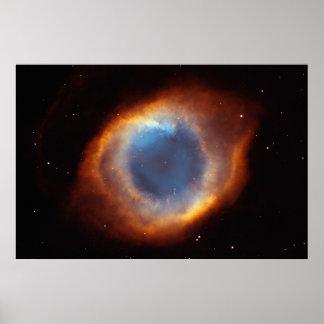 El ojo de dios póster