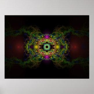 El ojo de dios posters