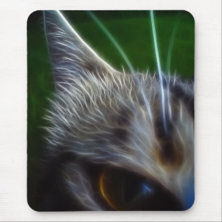 El ojo de gato Photomanipulation Tapetes De Raton