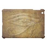 El ojo de Horus - mirada grabada en relieve