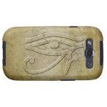 El ojo de Horus - mirada grabada en relieve Samsung Galaxy S3 Cobertura