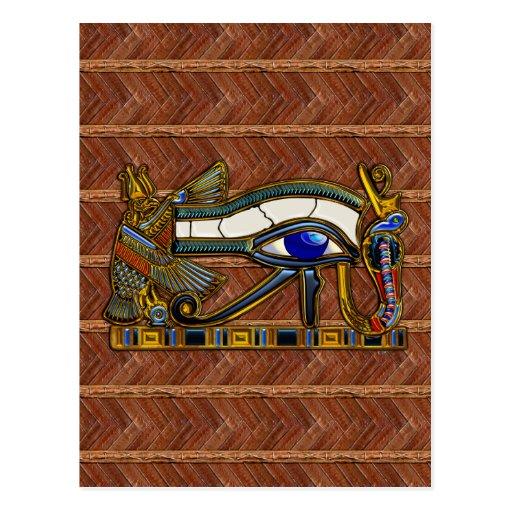 El ojo de Horus Tarjetas Postales