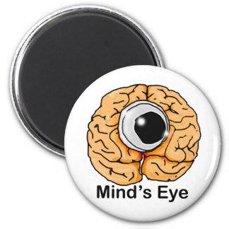 El ojo de la mente imán redondo 5 cm