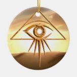 El ojo de la piedra de Providence Ornamentos De Reyes Magos