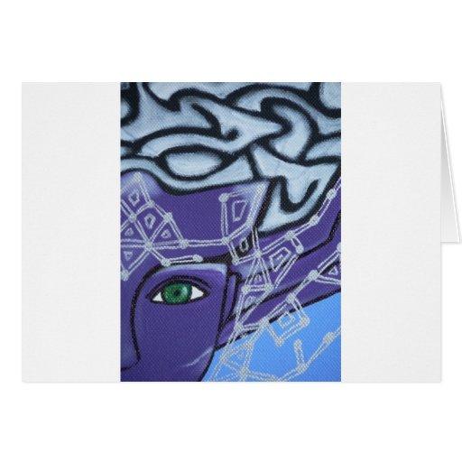 El ojo de la protección tarjeta de felicitación