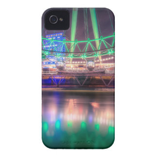 El ojo de Londres el el día de St Patrick Case-Mate iPhone 4 Carcasas