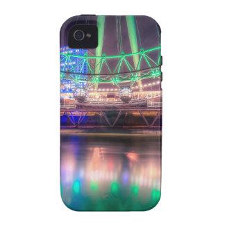 El ojo de Londres el el día de St Patrick Vibe iPhone 4 Funda