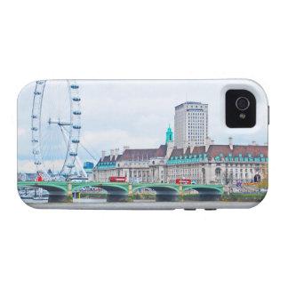 El ojo de Londres en un día soleado iPhone 4 Carcasa