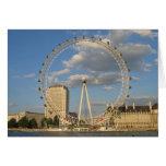 El ojo de Londres - NoteCard en blanco