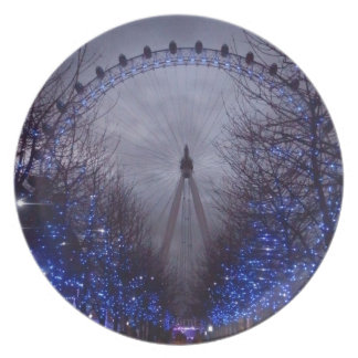 El ojo de Londres Platos De Comidas