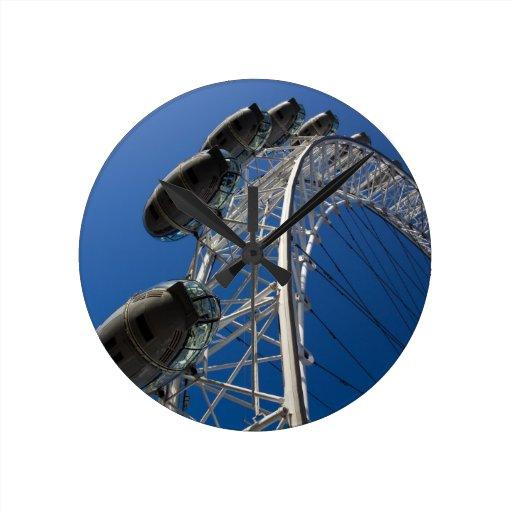 El ojo de Londres Relojes De Pared