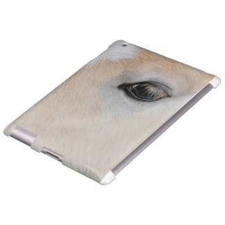 El ojo de un potro raro de la raza de Haflinger Funda Para iPad