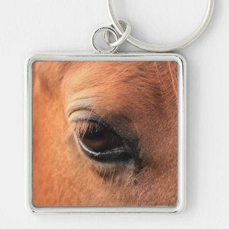 El ojo del caballo llavero personalizado