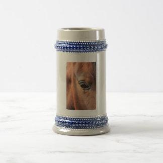 El ojo del caballo taza de café