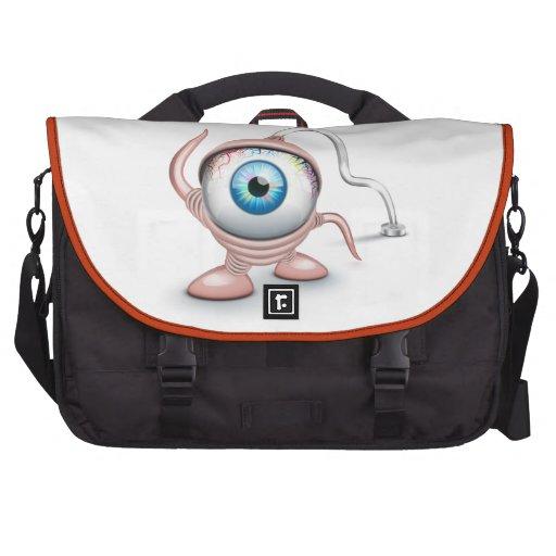 El ojo del Cyclope tapado Bolsas Para Ordenador