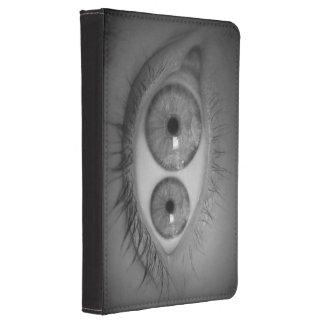 El ojo del mutante enciende la caja del tacto funda de kindle touch