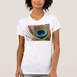 El ojo del pavo real camisetas