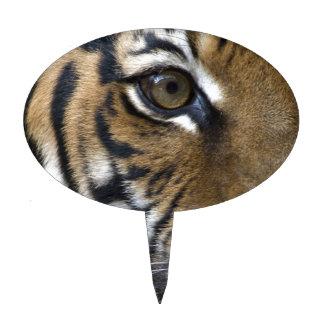 El ojo del tigre decoración de tarta