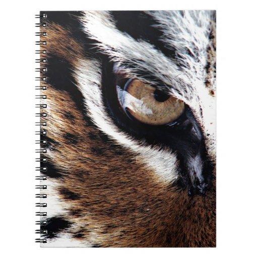 El ojo del tigre libreta espiral