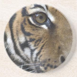 El ojo del tigre posavasos personalizados