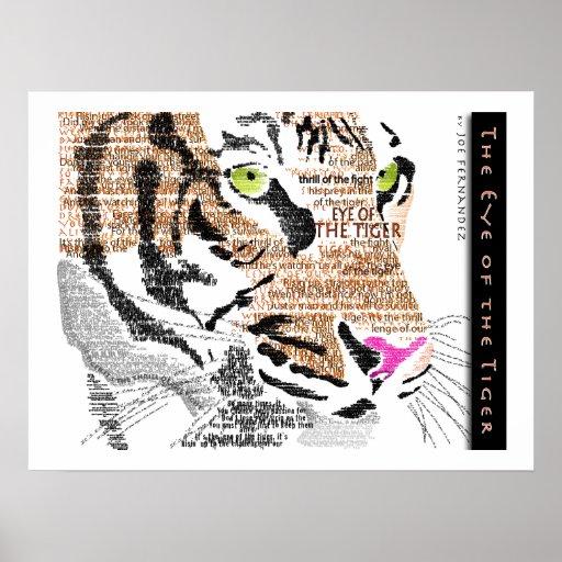 El ojo del tigre poster