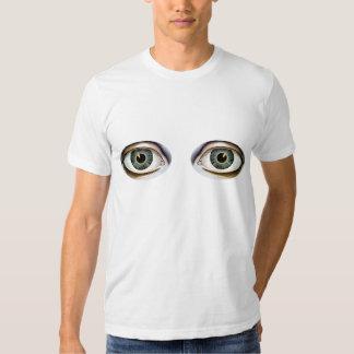 El ojo dice la camiseta retra playeras