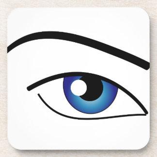 El ojo humano posavasos