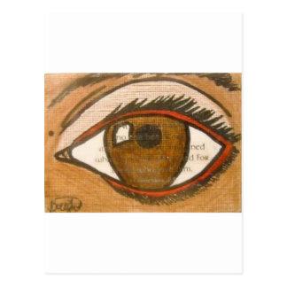 El ojo humano postales